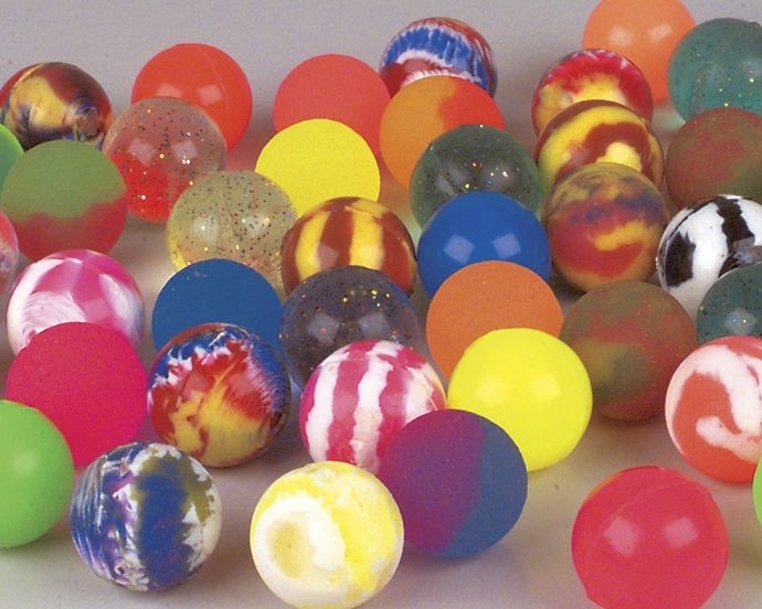 32mm Assorted Super Bouncy Ball