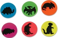 35mm Dinosaur Printed Super Bouncy Ball