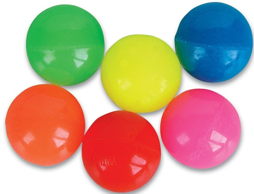 45mm Case of 432 Solid Color Super Bouncy Balls BULK